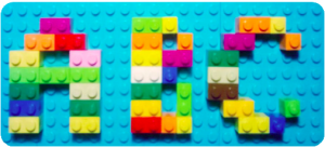 črke ABC iz lego kock