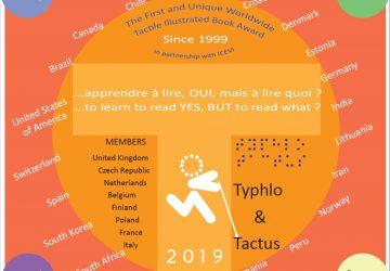 Povabilo k natečaju za Mednarodno nagrado Typhlo & Tactus za najboljšo tipanko 2019