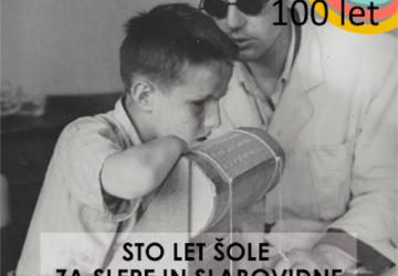 Slavnostna akademija ob 100-letnici organizirane skrbi za slepe in slabovidne na Slovenskem