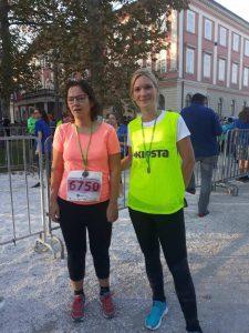 Irena in Jelena na cilju