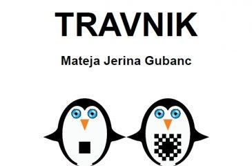 Naslovnica knjige Pingvinčki in skrivnostni travnik
