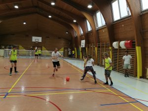 Nogometna tekma učenci-zaposleni