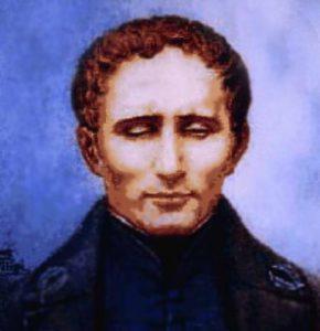 Louis Braille (vir: Wikipedija)
