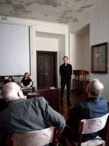 avtor razstave Dušan Škafar