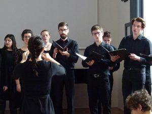 KD marec 2020 komorni zbor Akademije za glasbo