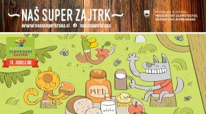 Tradicionalni slovenski zajtrk med živalmi