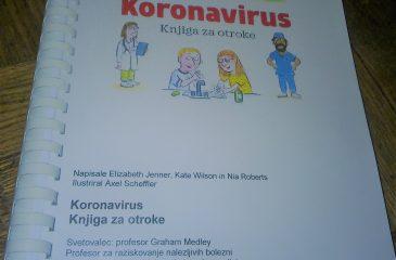 Koronavirus knjiga za otroke naslovnica